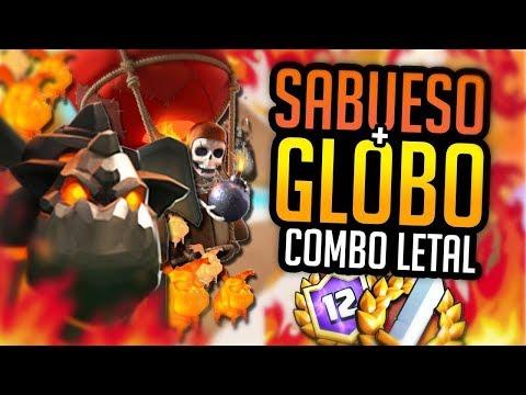 Sabueso Globo en contra del Meta! Mazos para Gran Desafios #2 - Adrian Piedra Clash Royale