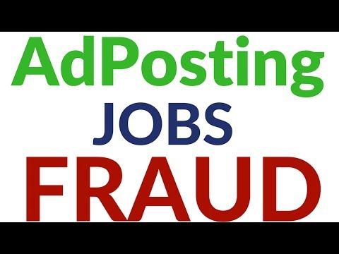 AdPosting Job Online HomeBased Work Scam Fraud Exposed By Online Hindi Tips