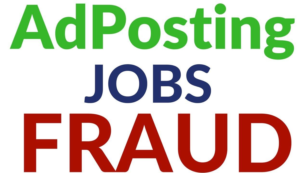 AdPosting Job Online HomeBased Work Scam Fraud Exposed By Online ...