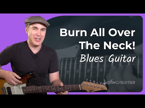 Blues Lead Guitar 2: Lesson 1: Play all over the neck using Minor Pentatonic frame!