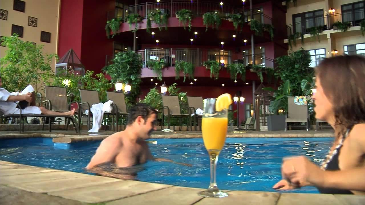 Hotel Ambassadeur A Quebec Notre Piscine Et Spa Youtube