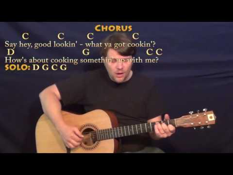 Hey Good Lookin' (Hank Williams) Fingerstyle Guitar Cover Lesson in C with Chords/Lyrics