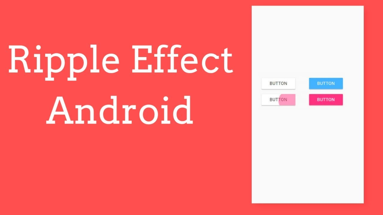 Ripple effect android