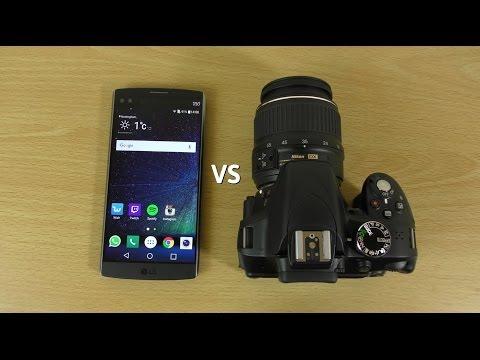 LG V10 VS DSLR - Which is Better?