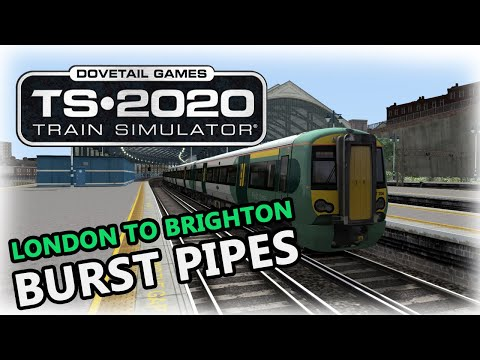 Train Simulator 2020 - London to Brighton: Burst Pipes |