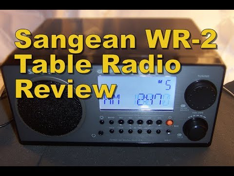 Sangean WR-2 AM/FM RDS Tabletop Radio Review
