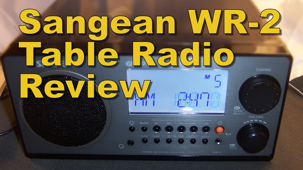Sangean Wr 2 Am Fm Rds Tabletop Radio Review