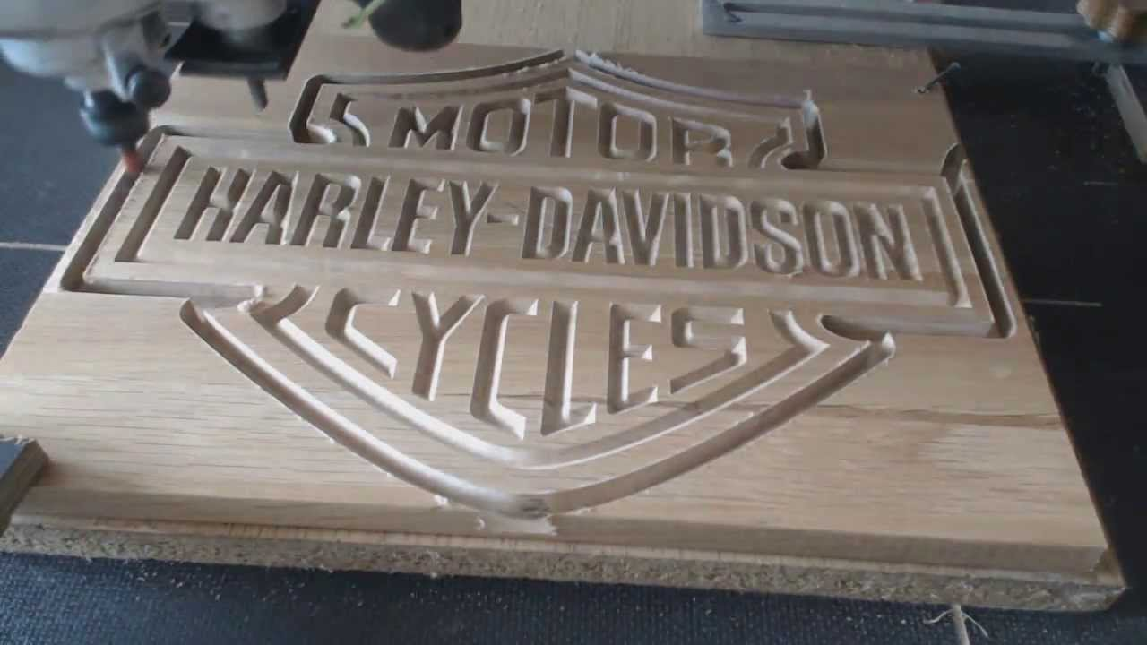 Cnc Harley Logo Youtube
