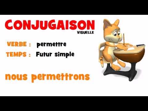 Conjugaison Permettre Futur Simple Youtube