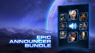 StarCraft II: Epic Announcer Bundle