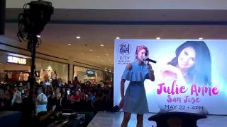 Julie Anne San Jose At Sm San Jose Bulacan Baby You Are