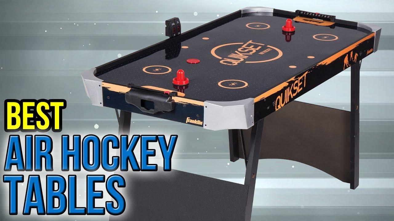 7 Best Air Hockey Tables 2017