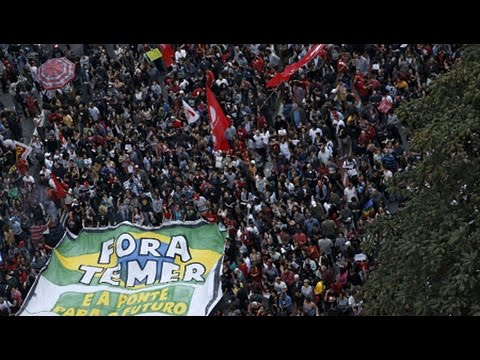 Over a Million People on The Street Demanding New Elections in Brazil