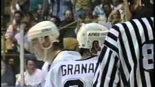 Vancouver Canucks - 7 @ Los Angeles Kings - 7 OT October 12, 1995 Wayne Gretzky Pavel Bure