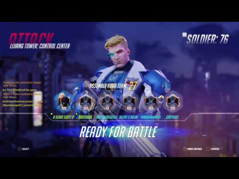 "Overwatch - Playing With Soldier 76 ""Getting Used To The Sights"""