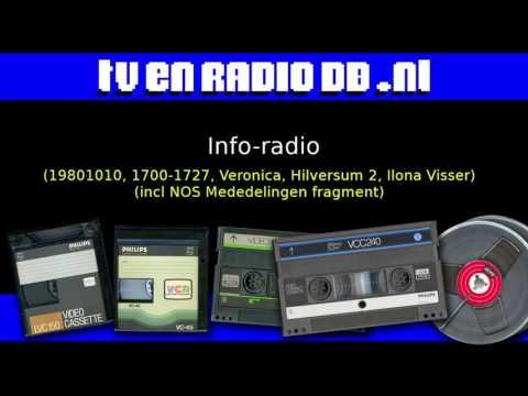 Radio: Info-Radio (19801010, 1700-1727, Veronica, Hilversum 2, Ilona Visser)