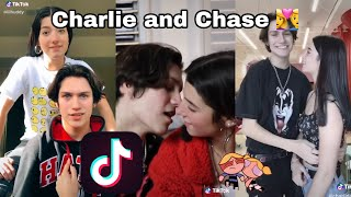 Charlie D'Amelio and Chase Hudson LilHuddy TikTok Compilation || Bestie Tingz 👩‍❤️‍👨