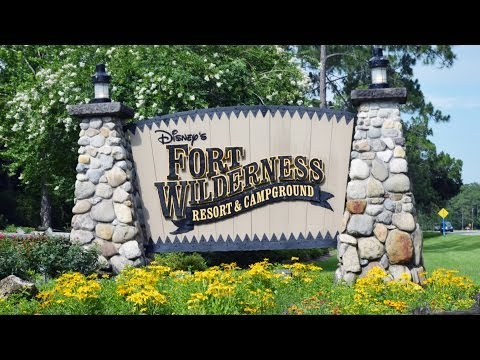 MouseSteps Weekly #106 Disney's Fort Wilderness Campground Overview 2014 w/River Country Vintage