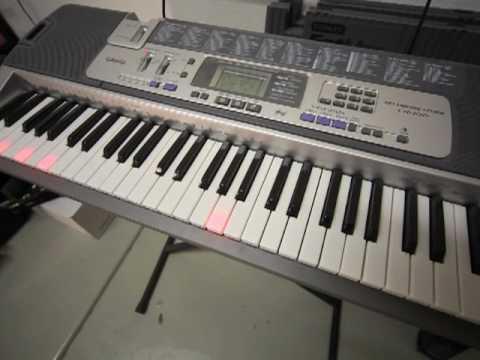 casio lk 100 lighted keyboard youtube. Black Bedroom Furniture Sets. Home Design Ideas