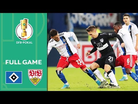 Hamburger SV Vs. VfB Stuttgart | Full Game | DFB-Pokal 2019/20 | 2nd Round