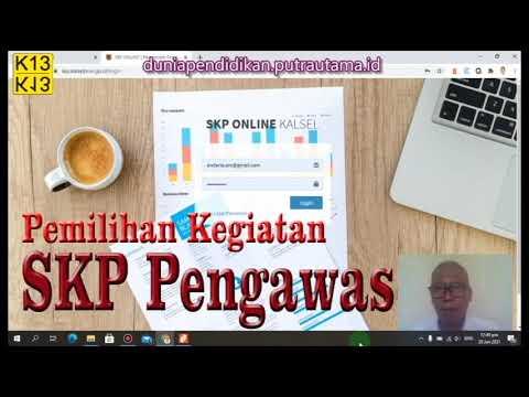 SKP Pengawas Madya Pemilihan kegiatan SKP (Bag. 2)