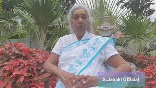Smt. S. Janaki about Shri. S. P. Balasubrahmanyam || Tamil