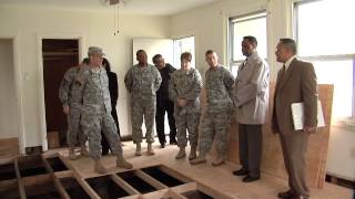 Lt. Gen. Mike Ferriter visits U.S. Army Garrison Japan Installations