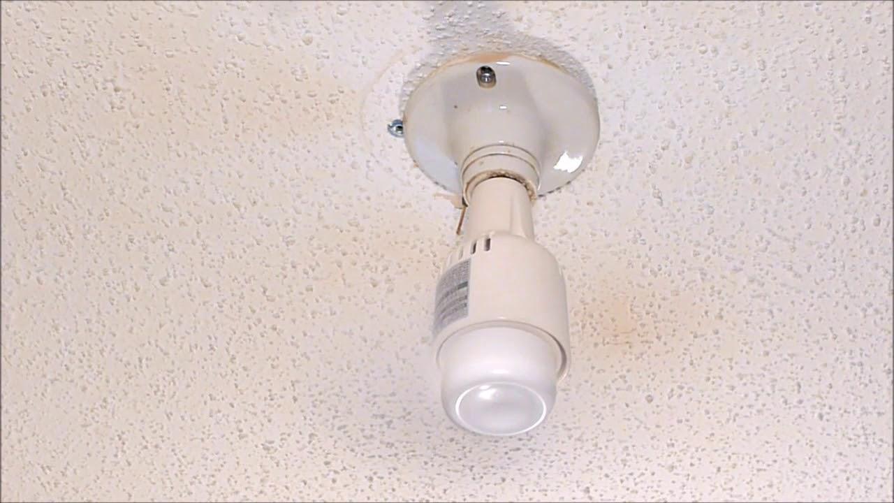 Nice Cool Nc 20 Screw In Light Socket Ceiling Fan Youtube