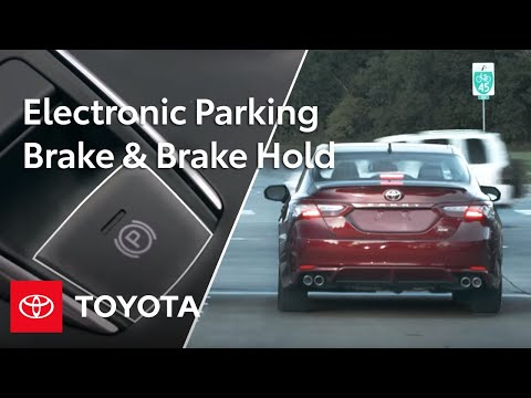 Toyota Camry How-To: Electronic Parking Brake & Brake Hold |