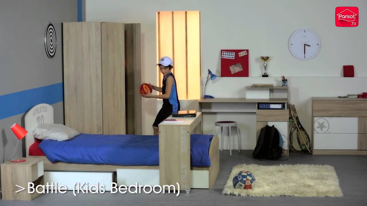 Parisot Battle Bedroom Furniture Trailer  YouTube