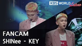 [FOCUSED] SHINee's KEY - Fake Love [Music Bank / 2018.06.08]