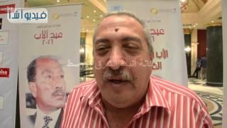 بالفيديو: نجل الفنان الراحل عماد حمدي في احتفالات