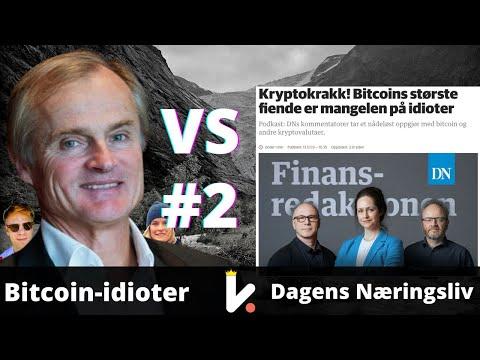 Spetalen ydmyker DN og Hegnar, blir Norges nye Bitcoin-konge   Frokostrant