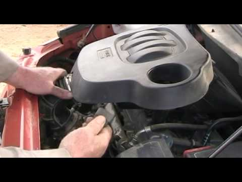 Chevy HHR Engine Air Filter Replace  YouTube