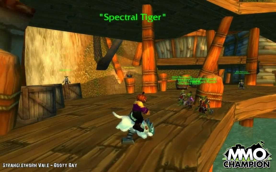 WoW TCG Loot - Sandbox Tiger