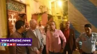 محافظ أسوان يتفقد تأمين الكنائس أثناء قداس عيد القيامة..شاهد