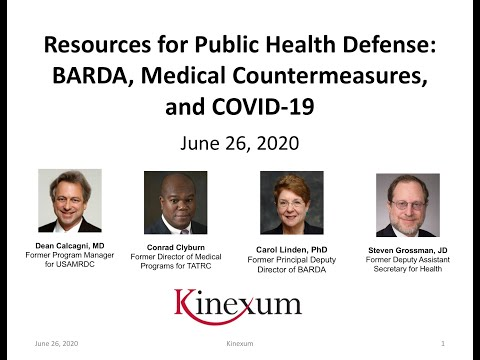 Resources For Public Health Defense: BARDA, Medical Countermeasures, And COVID-19