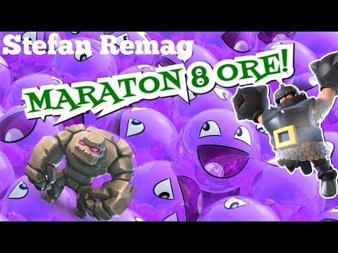 🔴[LIVE] AM REVENIT PE LIVE!!!MARATON 8 ORE CLASH ROYALE - Stefan Remag ep. 167