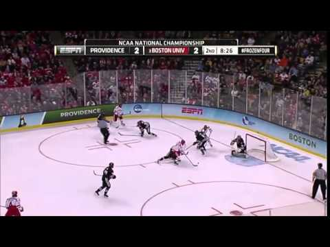 2015 NCAA BU vs Providence  Hockey National Championship Highlights