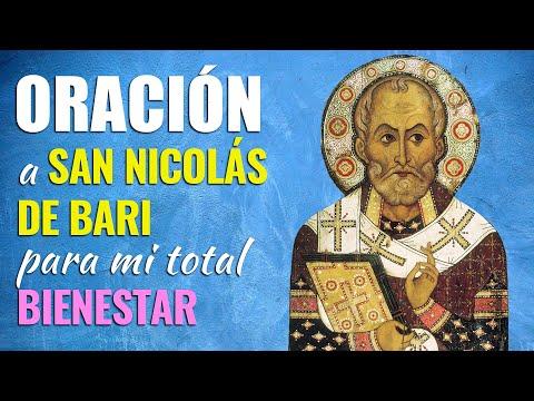 🙏 Oración a San Nicolás de Bari para mi BIENESTAR TOTAL 😃 Recibirán todo lo que Piden en Oración