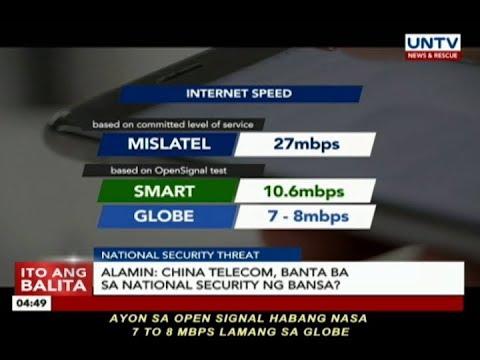Alamin: China Telecom, banta ba sa national security ng bansa?