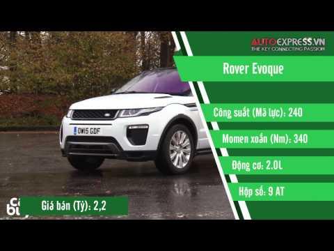 Giá bán các dòng xe Land Rover tại thị trường Việt Nam