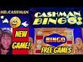 NEW GAME! CASHMAN bingo & free games