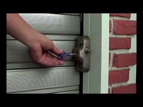 Gatelock Protects Your Rolling Steel Doors Youtube