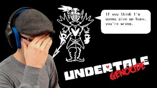 The Hero Becomes the Villain - Undyne Fight | Undertale (Genocide) - Part 4