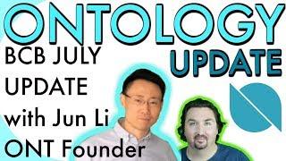 Ontology Update | BlockchainBrad interviews ONT Founder | BCB chats with Jun Li | $ONT