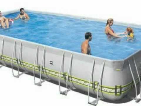 inbouw opbouw zwembaden youtube