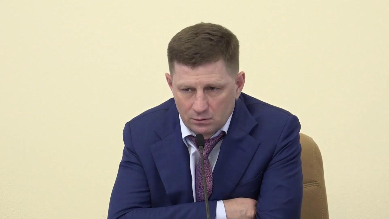 Губернатор  Сергей Фургал анонсировал запуск местного масштабного производства медицинских масок