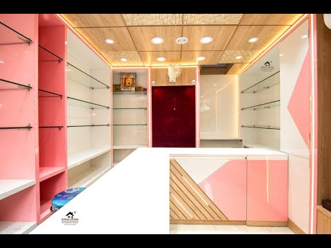 Latest Garment Store Design 2020 | Lady & Kids Garment Store Design 2020