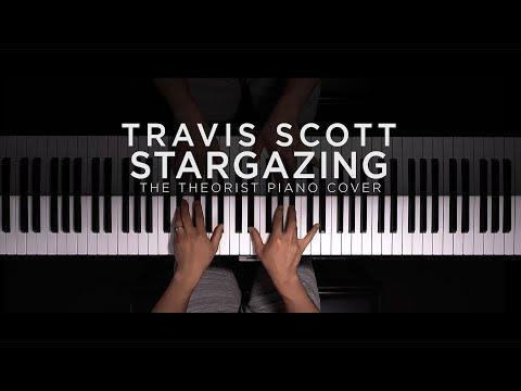 Travis Scott - STARGAZING | The Theorist Piano Cover